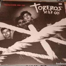 """Discos de vinilo: TOREROS AFTER OLÉ: DIRECTO EN RNE LP 12"""" COLOR ROJO. Lote 222512943"""