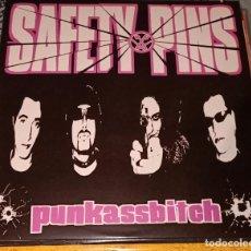 """Discos de vinilo: SAFETY PINS: PUNKASSBITCH LP12"""". Lote 222512995"""