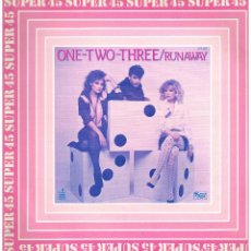 Dischi in vinile: ONE TWO THREE - RUNAWAY (2 VERSIONES) - MAXI SINGLE 1983 - BUEN ESTADO. Lote 222520936