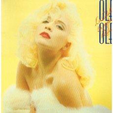 Disques de vinyle: OLE OLE - LOS CABALLEROS LAS PREFIEREN RUBIAS - LP 1987 - PORTADA DOBLE. Lote 222521482