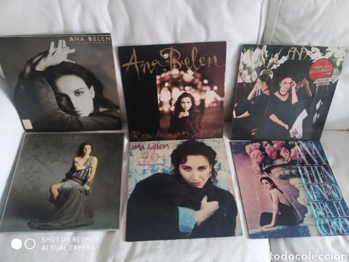 LOTE VINILOS 6 LP ANA BELÉN (Música - Discos - LP Vinilo - Cantautores Españoles)