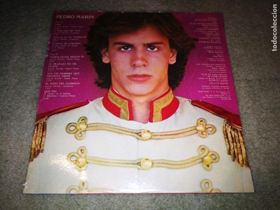 Discos de vinilo: PEDRO MARIN Aire / Que no LP VINILO PRECINTADO DEL AÑO 1980 9 TEMAS - Foto 2 - 222527291