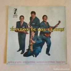 Discos de vinilo: EXITOS DE LOS LLOPIS - QUITO A POQUITO / ROCK HABILIDAD / CANTANDO MIS TRISTEZAS +1 - EP ZAFIRO 1960. Lote 222530056