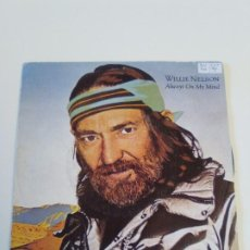 Disques de vinyle: WILLIE NELSON ALWAYS ON MY MIND / THE PARTY'S OVER ( 1982 CBS ESPAÑA ). Lote 222532887