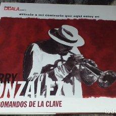 Discos de vinilo: DOBLE LP DE VINILO DIEGO EL CIGALLA AVISENLE A MI CONTRARIO QUE AQUI ESTOY YO - JERRY GONZALEZ. Lote 222533047