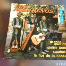 Discos de vinilo: ARRIBEÑOS, LOS, EP, LA FLOR DE LA CANELA + 3, AÑO 1968. Lote 222533791