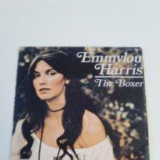 Discos de vinilo: EMMYLOU HARRIS THE BOXER / ROSES IN THE SNOW ( 1980 HISPAVOX ESPAÑA ) PAUL SIMON. Lote 222534697