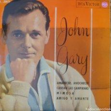 Discos de vinilo: JOHN GARY EP SELLO RCA VÍCTOR EDITADO EN ESPAÑA AÑO 1965. Lote 222534800