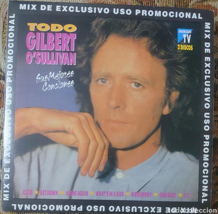 GILBERT O'SULLIVAN EP SELLO BCN EDITADO EN ESPAÑA AÑO 1992... (Música - Discos de Vinilo - EPs - Pop - Rock Extranjero de los 70)