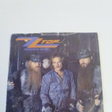 Discos de vinilo: ZZ TOP ROUGH BOY / DELIRIOUS ( 1986 WEA UK ). Lote 222535091