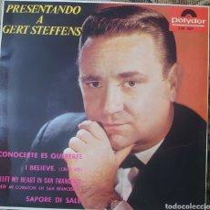 Discos de vinilo: GERT STEFFENS EP SELLO POLYDOR EDITADO EN ESPAÑA AÑO 1964.... Lote 222535602