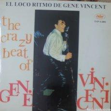 Discos de vinilo: GENE VINCENT EP SELLO CAPITOL EDITADO EN ESPAÑA REEDICIÓN.... Lote 222535890