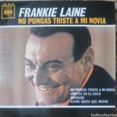 Discos de vinilo: FRANKIE LAINE EP SELLO CBS EDITADO EN ESPAÑA AÑO 1963.... Lote 222536212