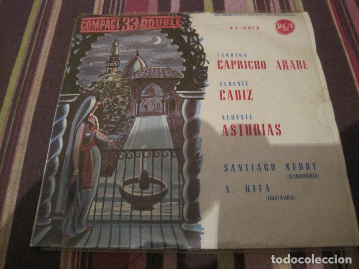 EP ALBENIZ TARREGA CAPRICHO ARABE RCA 33 COMPACT 37-5015 SPAIN 1961 CLÁSICA (Música - Discos de Vinilo - EPs - Clásica, Ópera, Zarzuela y Marchas)