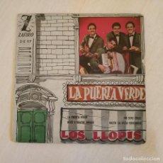 Discos de vinilo: LOS LLOPIS - LA PUERTA VERDE / NO SEAS CRUEL / HASTA LUEGO COCODRILO +1 EP SPAIN 1960 VINILO EX. Lote 222540752