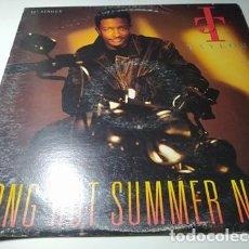 Discos de vinilo: MAXI - J.T. TAYLOR – LONG HOT SUMMER NIGHT - MCA 12-54103 ( VG/ G+) US 1991. Lote 222541983