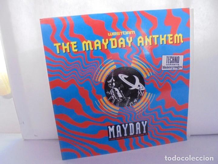 THE MAYDAY ANTHEM. WESTBAM. DISCOGRAFIA BASIC MIX 1992. MAXI SINGLES VINILO. (Música - Discos de Vinilo - Maxi Singles - Techno, Trance y House)