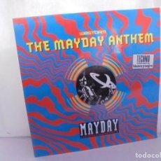 Discos de vinilo: THE MAYDAY ANTHEM. WESTBAM. DISCOGRAFIA BASIC MIX 1992. MAXI SINGLES VINILO.. Lote 222542326