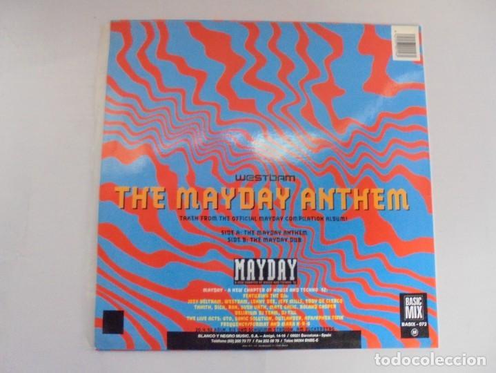 Discos de vinilo: THE MAYDAY ANTHEM. WESTBAM. DISCOGRAFIA BASIC MIX 1992. MAXI SINGLES VINILO. - Foto 7 - 222542326