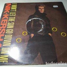 Discos de vinilo: MAXI - NIK KERSHAW ?– I WON'T LET THE SUN GO DOWN ON ME - NIK T 4 ( VG+/ G) UK 1984. Lote 222542331