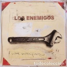 Discos de vinilo: LOS ENEMIGOS - VIDA INTELIGENTE ( LP + CD ). Lote 222544745