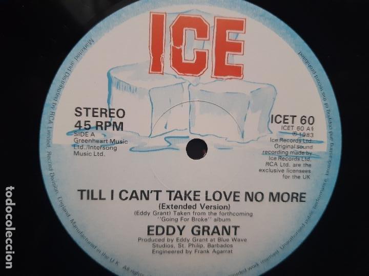 Discos de vinilo: EDDY GRANT- TILL I CAN´T TAKE LOVE NO MORE- UK MAXI SINGLE 1983- VINILO CASI NUEVO. - Foto 3 - 222547371