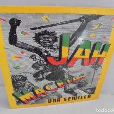 Discos de vinilo: JAH MACETAS. UNA SEMILLA. LP VINILO. EUROPA COMPACT. 1988. VER FOTOGRAFIAS ADJUNTAS. Lote 222550205