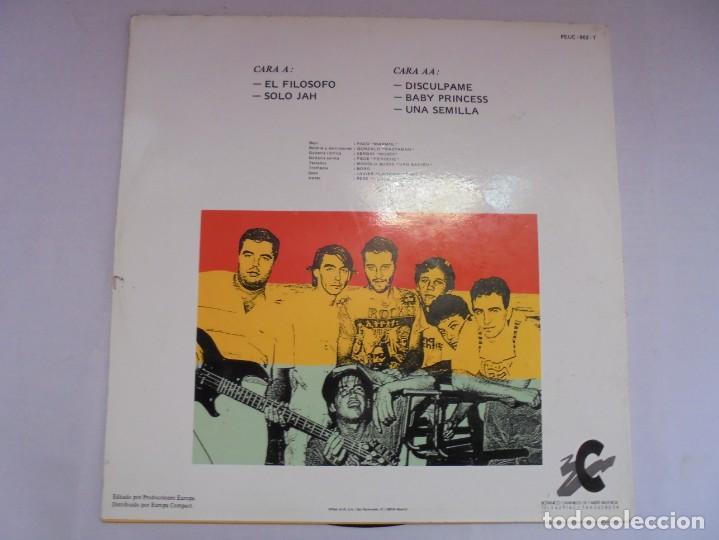 Discos de vinilo: JAH MACETAS. UNA SEMILLA. LP VINILO. EUROPA COMPACT. 1988. VER FOTOGRAFIAS ADJUNTAS - Foto 9 - 222550205