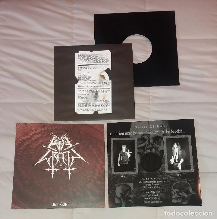 """Discos de vinilo: Lote 3 vinilos 10"""" Black Metal [K.S, Pagan Rites / Evil Wrath & Gloria Diaboli] - Foto 2 - 222550488"""