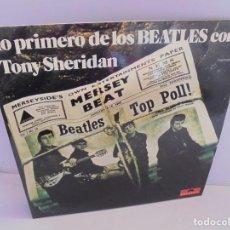 Discos de vinilo: LO PRIMERO DE LOS BEATLES CON TONY SHERIDAN. 2 LP VINILO. DISCOGRAFIA POLYDOR 1968. Lote 222550576