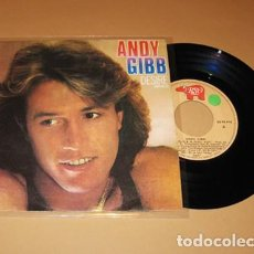 Discos de vinilo: ANDY GIBB - DESIRE - SINGLE - 1980. Lote 222553360