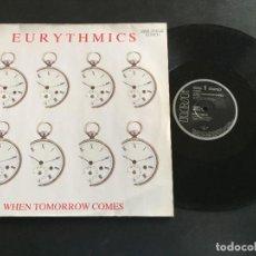 "Discos de vinilo: EURYTHMICS WHEN TOMORROW COMES - EXTENDED 12"" UK. Lote 222554263"