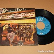 Discos de vinilo: THE BEATLES - MOVIE MEDLEY - SINGLE - 1982. Lote 222558385