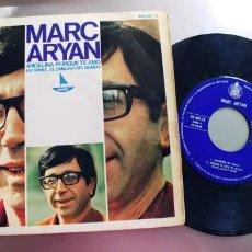 Discos de vinilo: MARC ARYAN-EP ANGELINA +3. Lote 222558932
