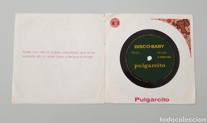 Discos de vinilo: LOTE 3 DISCOS FLEXI COLECCION DISCO-BABY DAF 1965 Pulgarcito, Caperucita Roja La Bella Durmiente - Foto 4 - 222559033