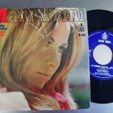 Discos de vinilo: MARI TRINI-SINGLE CUANDO ME ACARICIAS. Lote 222559693