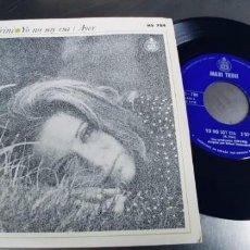 Discos de vinilo: MARI TRINI-SINGLE YO NO SOY ESA. Lote 222559805