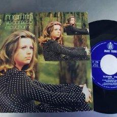 Discos de vinilo: MARI TRINI-SINGLE YO CONFIESO. Lote 222559841