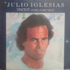 Discos de vinilo: JULIO IGLESIAS. SINGLE. SELLO COLUMBIA. EDITADO EN HOLANDA. Lote 222562640
