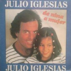 Discos de vinilo: JULIO IGLESIAS. SINGLE. SELLO CBS. EDITADO EN HOLANDA.. Lote 222562785
