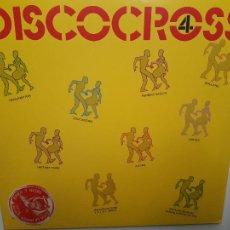 Discos de vinilo: DISCOCROSS 4 - ITALY LP 1982- ITALO DISCO- VINILO CASI NUEVO.. Lote 222562831