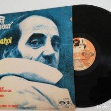 Discos de vinilo: ANTIGUO VINILO OLD VINYL: CHARLES AZNAVOUR CANTA EN ESPAÑOL VOL 3. LP 1972. Lote 222562863