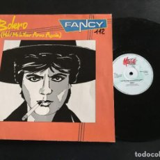 "Discos de vinilo: FANCY BOLERO - EXTENDED 12"" SCANDINAVIA. Lote 222563631"