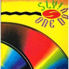 Discos de vinilo: SLY - ONE DAY - MAXI SINGLE 1993. Lote 222565822