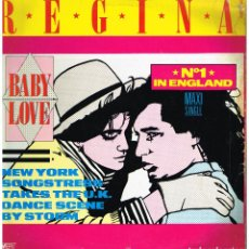 Discos de vinilo: REGINA - BABY LOVE - MAXI SINGLE 1986. Lote 222566931