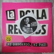 Discos de vinilo: DISCO VINILO Y CD. LA POLLA RECORDS-NI DESCANSO, NI PAZ.. Lote 222567463