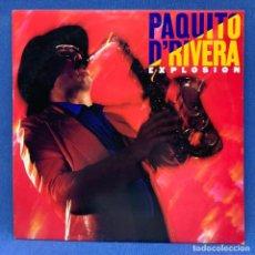 Discos de vinilo: LP VINILO PAQUITO D´RIVERA - EXPLOSION + ENCARTE - LONDRES - 1981. Lote 222567990