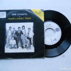 Discos de vinilo: DIRE STRAITS – YOUR LATEST TRICK SINGLE 1986. Lote 222572238