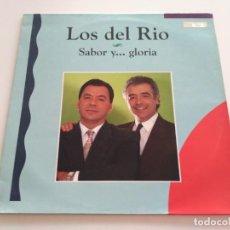 Discos de vinilo: LOS DEL RIO - SABOR Y... GLORIA (LP, ALBUM). Lote 222577680