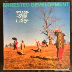 Discos de vinilo: ARRESTED DEVELOPMENT - 3 YEARS, 5 MONTHS AND 2 DAYS IN THE LIFE OF... - LP CHRYSALIS SPAIN 1992. Lote 222580181